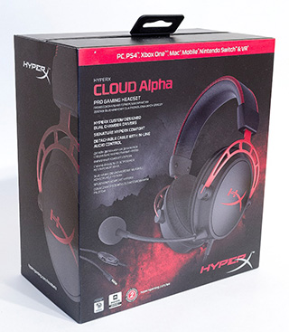 HyperX Cloud Alpha Box